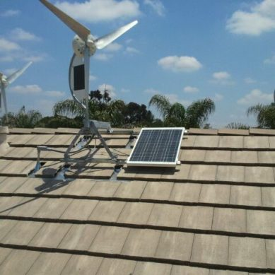 HYBRID SOLAR AND WIND SYSTEM – THE ANSWER TO THE POWER AVAILABILITY QUESTION