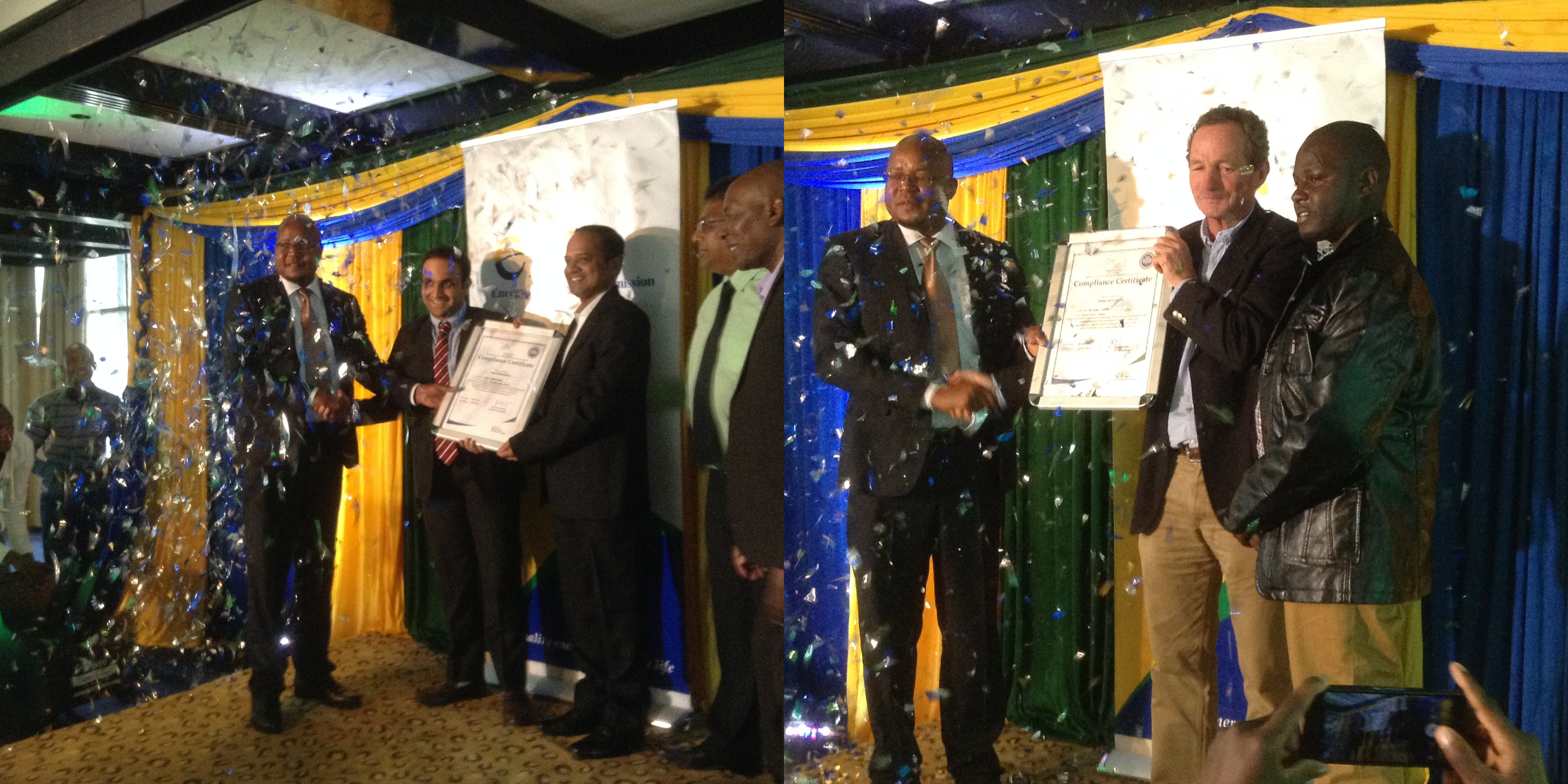 Two Eenovators' Clients are Awarded With the Coveted ERC Energy Management Compliance Certificates