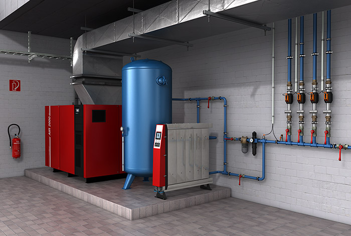 Compressed Air Supply Installation